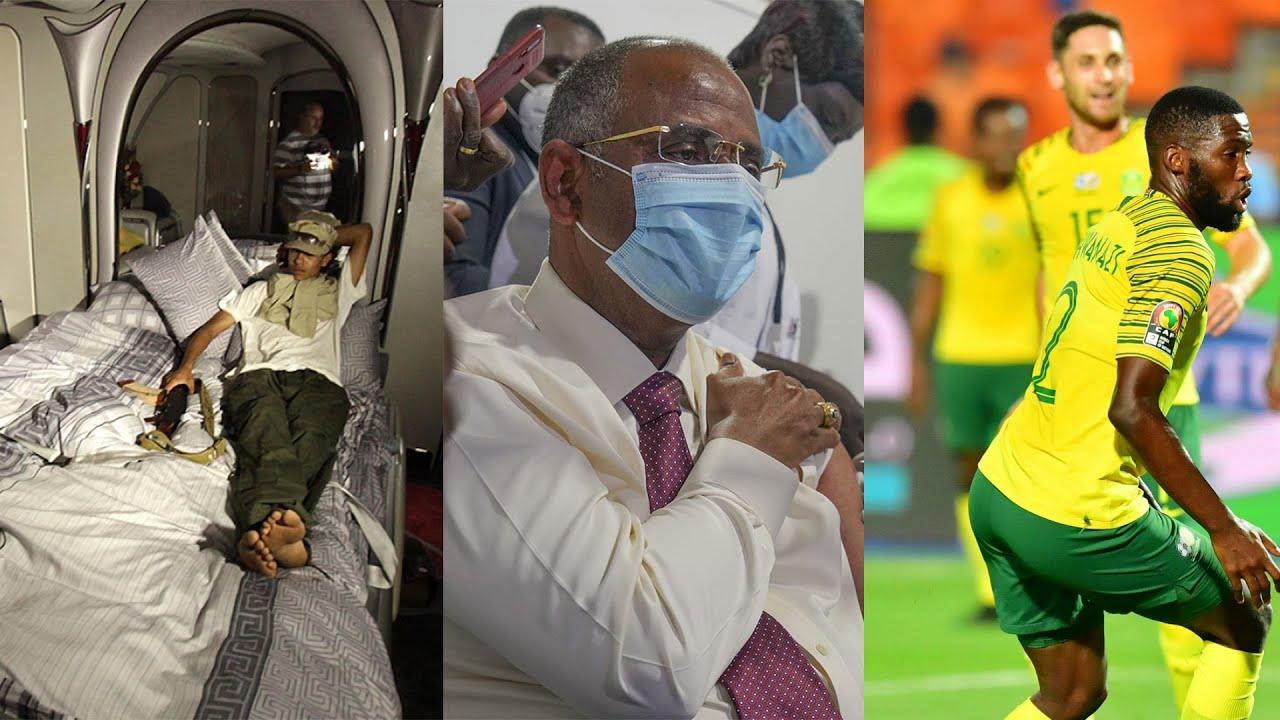 Gaddafi's Jet Back Home, Nigeria & South Africa Set as Vaccine Hubs,CAF Aims for Africa Super League