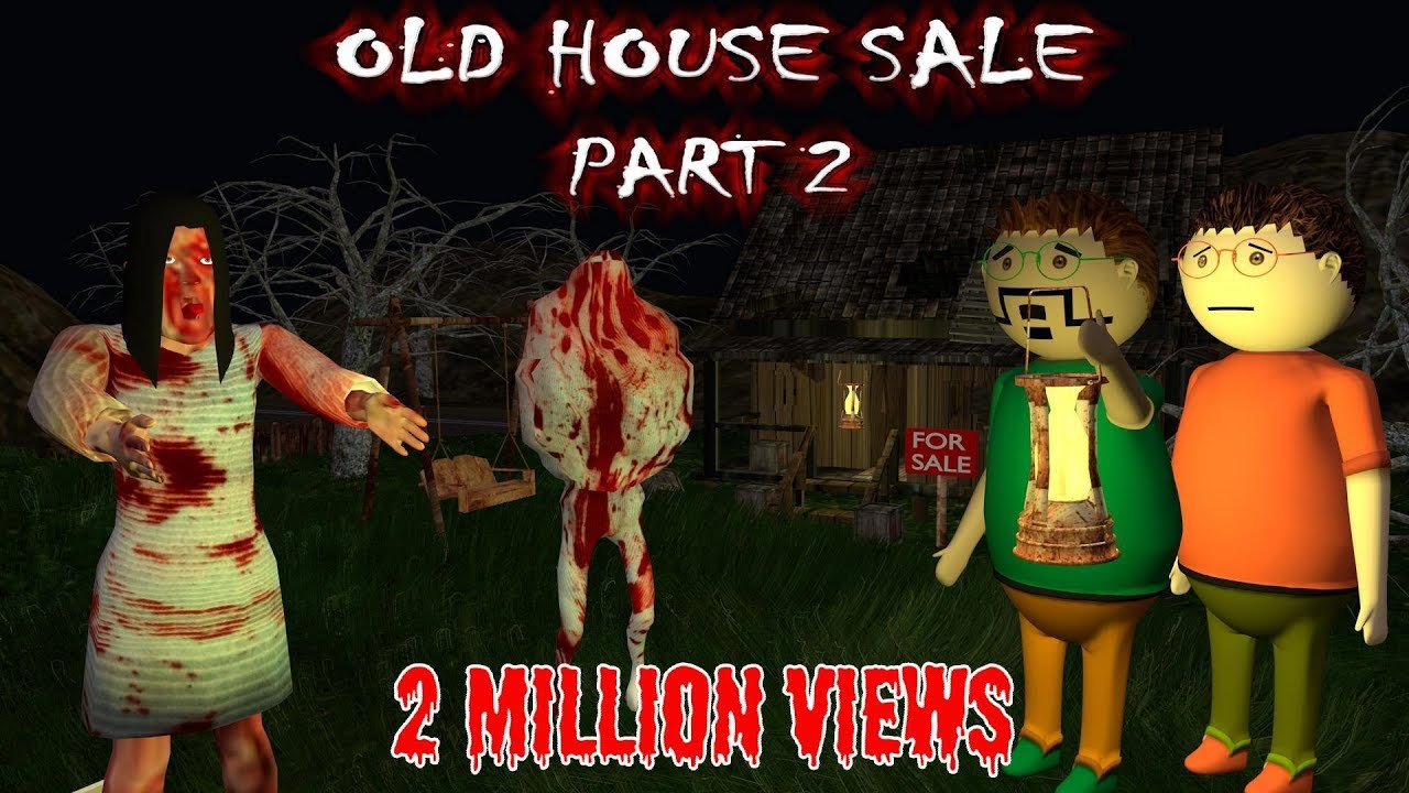 Old House Sale Part 2 - Horror Story (ANIMATED CARTOON FOR KIDS) Make Joke  Horror