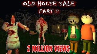 Old House Sale Part 2 - Horror Story (ANIMATED CARTOON FOR KIDS) Make Joke Horror