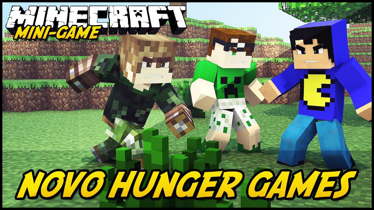 Minecraft: NOVO HUNGER GAMES?! (MINI-GAME)