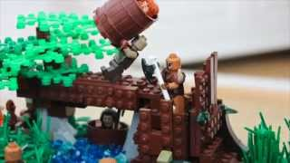 Lego hobbit moc (contest entry)