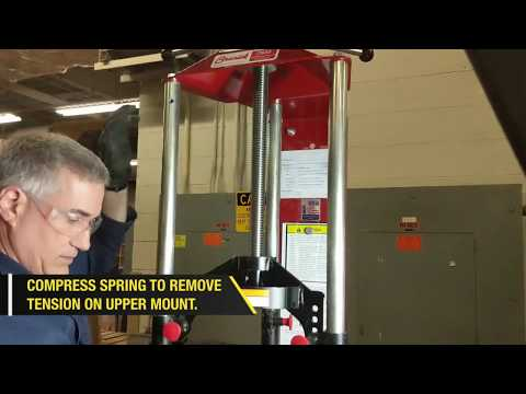 Monroe   OESpectrum Strut Install On Subaru Outback