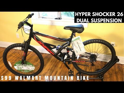 Hyper Shocker 26 Mountain bike from Walmart - Feature overview and potential issues
