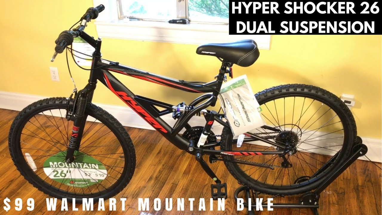 Hyper Shocker 26 Mountain Bike From Walmart Feature Overview And