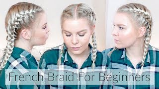How To French Braid Your Own Hair Step By Step – Hair For Beginners | EverydayHairInspiration