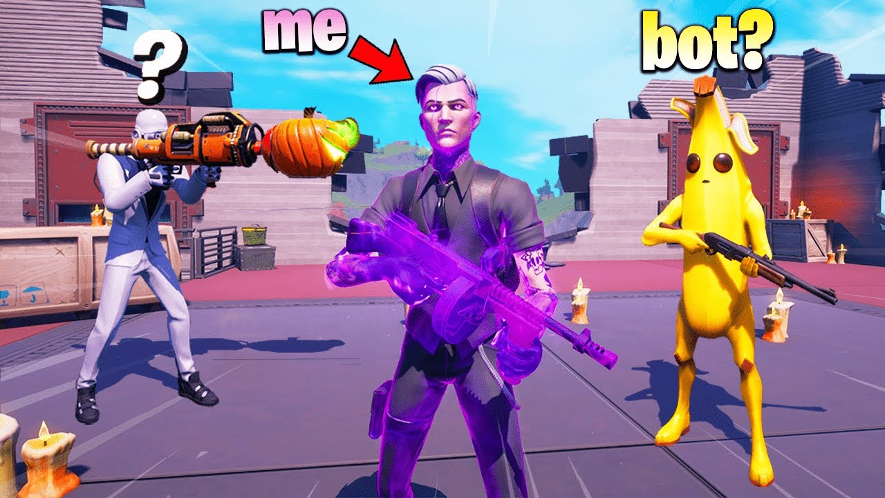 I Pretended to be SHADOW MIDAS in Fortnite (kind of)