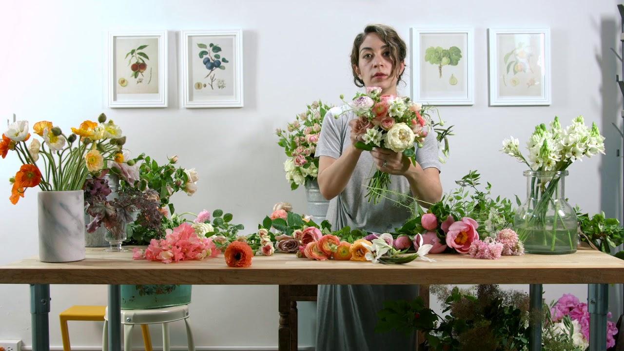 Bouquet Sposa Youtube.Handheld Bridal Bouquet Youtube