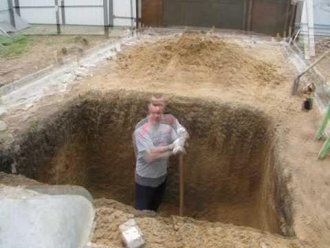 Строительство гаража