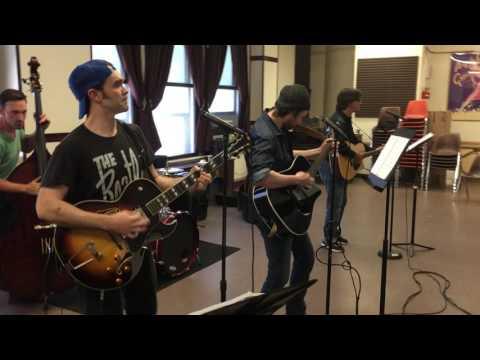 Million Dollar Quartet - First Rehearsal