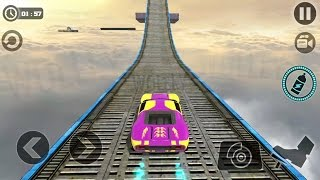Impossible Stunt Car Tracks 3D - Android GamePlay HD - Racing Cars Stunts Race For Kids