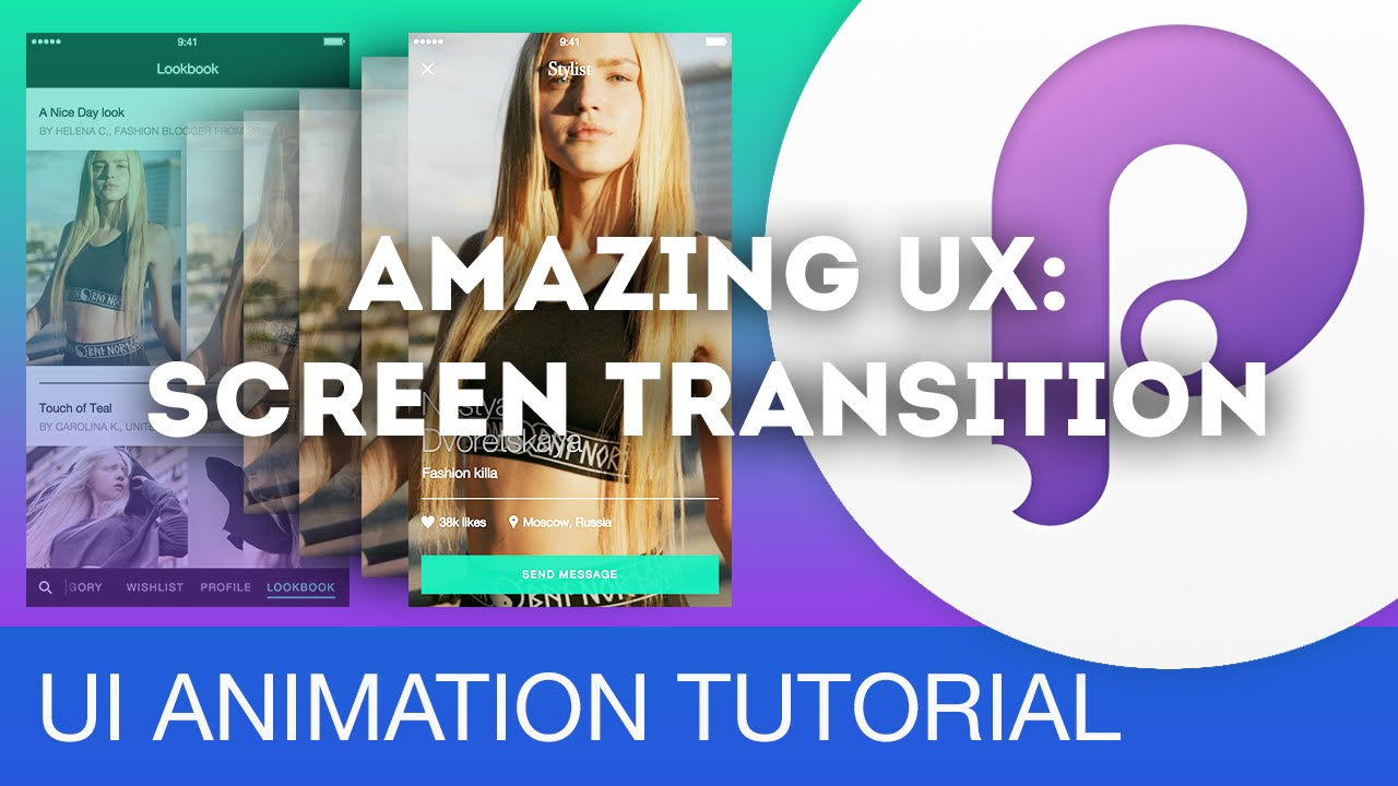 amazing ux screen transition ui ux animations with principle sketch tutorial