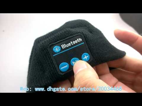 Wireless Bluetooth Knit Hat Music Cap Hands-free Phone Call Answer Ears-free Beanie Hat