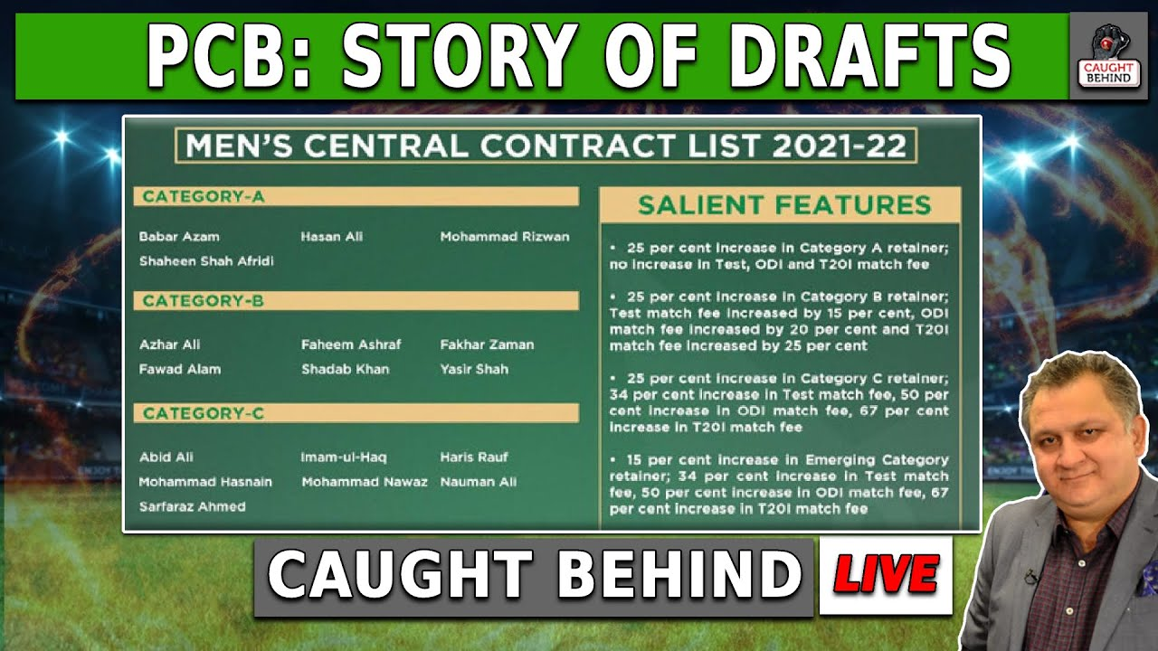 PCB: Story Of Drafts   Caught Behind