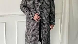 [그남자] 프리미엄 울 롱롱 더블 코트
