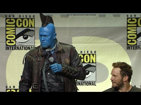 Guardians of the Galaxy Vol 2 San Diego Comic-Con 2016 Panel Highlights
