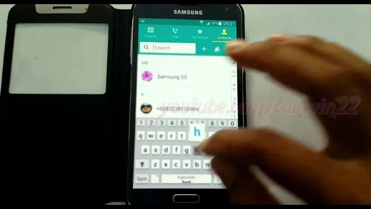 WhatsApp  How to Use contacts custom ringtone as