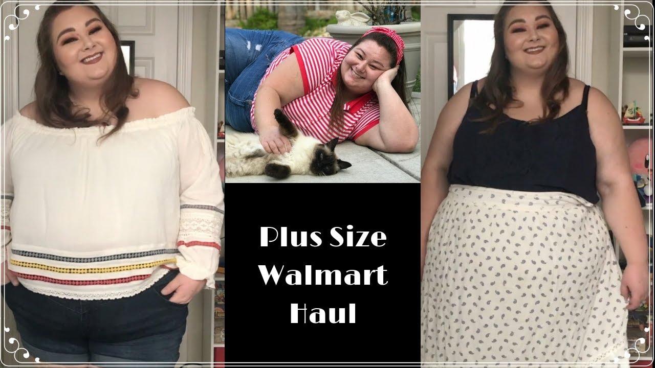 7bae1221e60b2 Walmart  50 Plus Size Haul