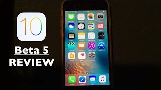 iOS 10 Beta 5: New Features & Bug Fixes Review!