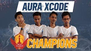 AURA XCODE | PEMENANG JAKARTA INVITATIONALS 2018