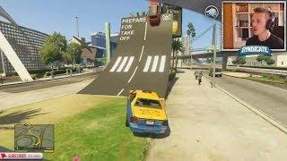 TERRORIST TAXI HIJACK! - Grand Theft Auto 5 thumbnail