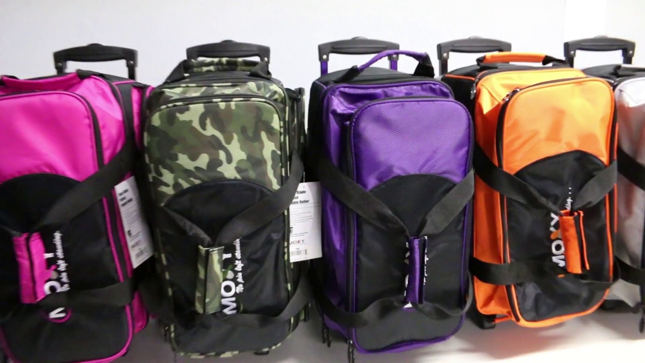 Moxy Blade Premium Double Roller Bowling Bag Video Demonstration ... 572effb6bf