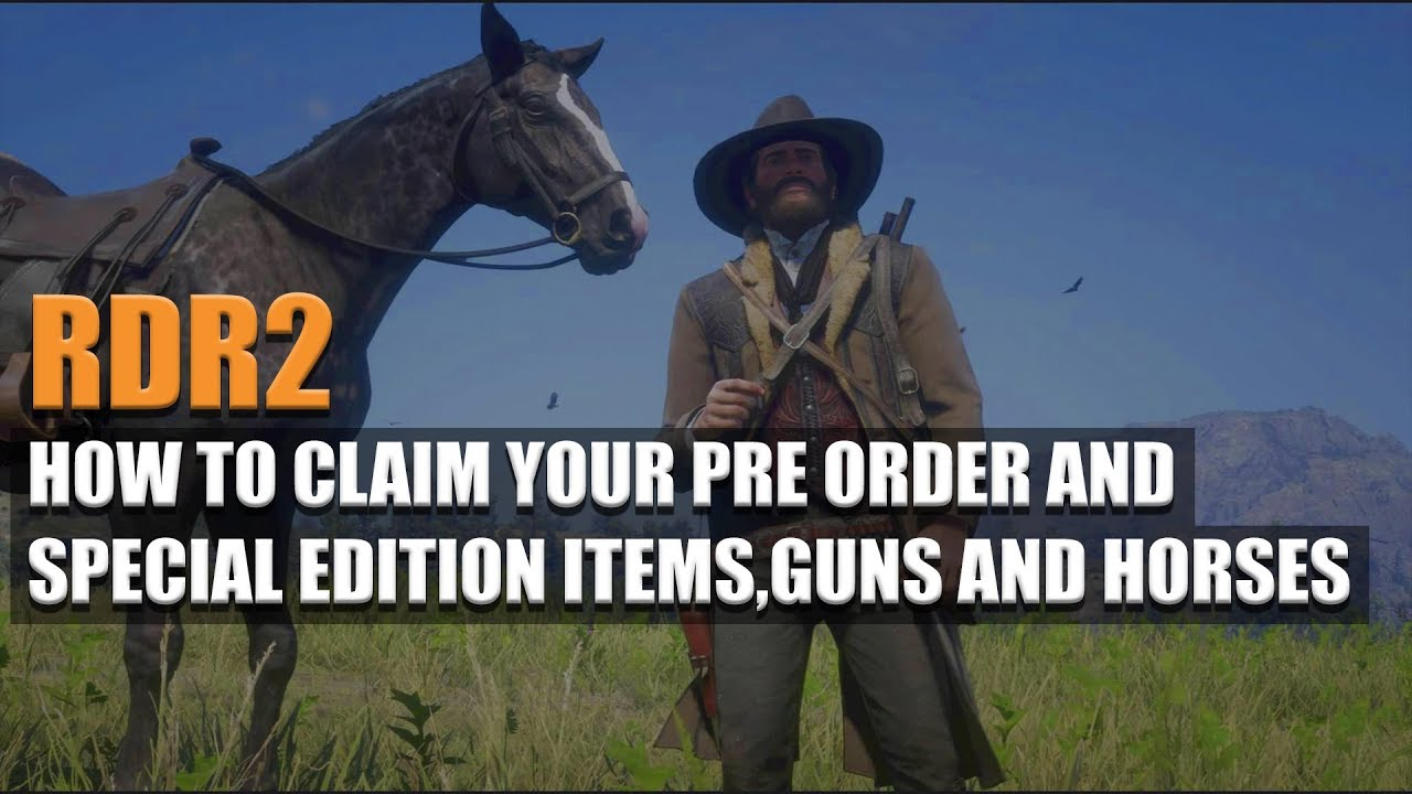 red dead 2 special edition items