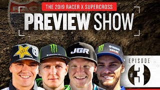 With four riders totaling 25 career 250SX wins, this year's 450 roo...