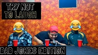 Try Not To Laugh Challenge: Dad Joke Edition | TECK 4 PULSE