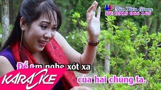 Chút Kỷ Niệm Buồn Karaoke - Diệu Thắm | Nhạc Vàng Trữ Tình Full Beat HD