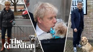 Politicians Joined By Dogs On Election Polling Day