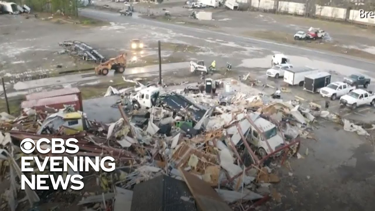 Tornado Strikes Alabama; At Least 5 Dead As Severe Weather ...