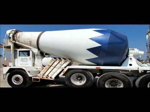1993 Advance front discharge concrete mixer truck  Demo