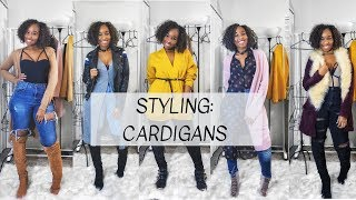Styling: Cardigans