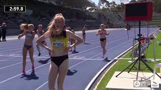 U18 Womens 4x400m - Final - 2018 Australian Junior Athletics Championships