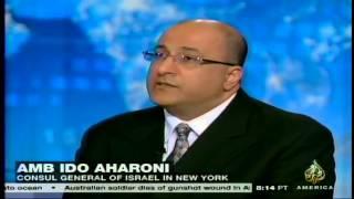 Al Jazeera America - Interview with Amb. Ido Aharoni, Consul General of Israel in New York