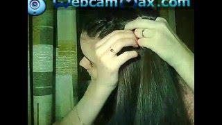 Французская коса самой себе French braid on yourself