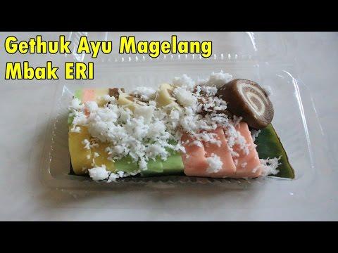 Gethuk Ayu Magelang Mbak Eri - Indonesia Street Food # 1