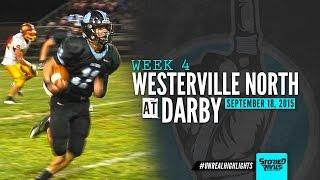 Video HS Football | Westerville North at Hilliard Darby [9/18/15] download MP3, 3GP, MP4, WEBM, AVI, FLV Oktober 2018