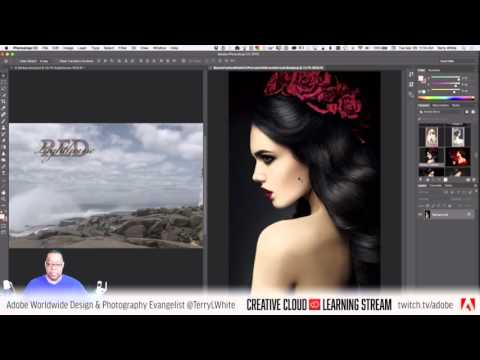 Introduction to Adobe Photoshop CC - Pt 3 - The 10 Most Used Tools | Educational