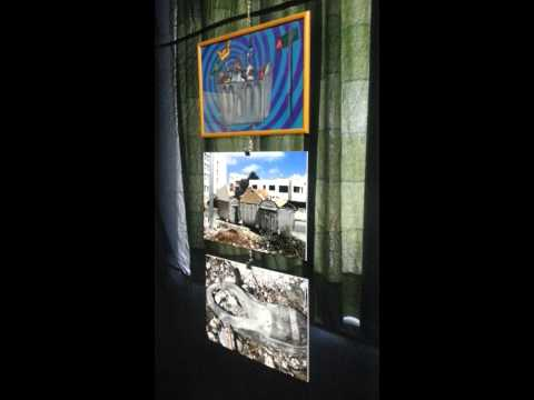 The Art  Exhibition of Saba N. Bitar at ASG - CMS - Amman - Jordan