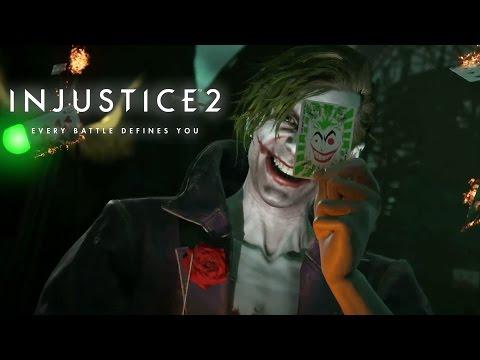 Injustice 2 - Official Joker Gameplay Trailer
