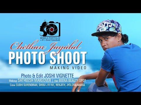 Chethan Jayalal | Malayalam Film Artist | Photo Shoot | Making Video | G10 Creations