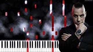 LINDEMANN - Knebel   Piano Cover   Instrumental Karaoke