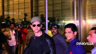 Spotted! Hritik Roshan on his way to IIFA Awards Press Meet