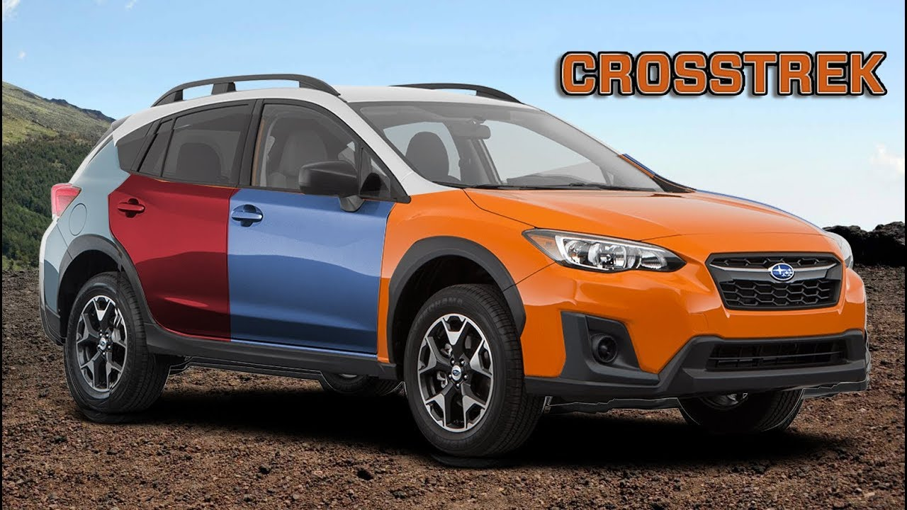 2018 Subaru Crosstrek All Color Options