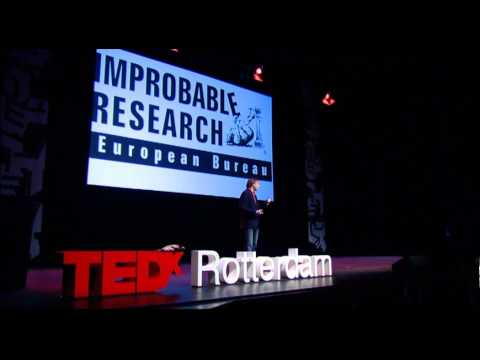 TEDxRotterdam – Kees Moeliker – Humor and science will lead the future