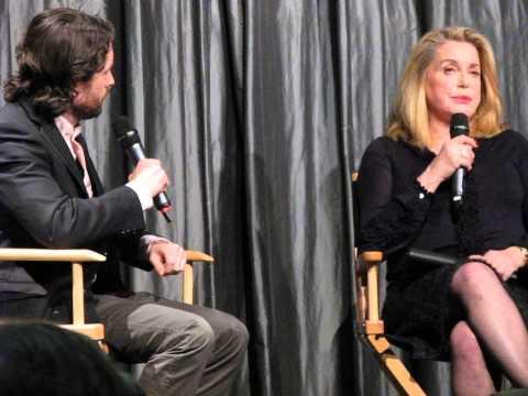 CATHERINE DENEUVE at IFC Center NYC March 8 2014