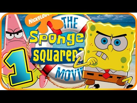 The SpongeBob SquarePants Movie Walkthrough Part 1 (PS2, Gamecube, XBOX) Level 1