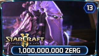Starcraft 2 ► Legacy of the Void - Over 1 Billion Zerg - Last Stand (LOTV Campaign Walkthrough)