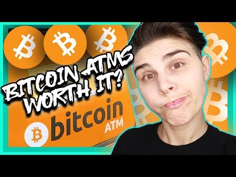 ARE BITCOIN ATMS WORTH IT?